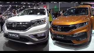 New 2016, 2017 Honda CRV VS Honda HRV video review(New Honda CRV 2015-2016 VS Honda HRV 2015-2016: Model 2016, 2017 Honda CR-V will have minor facelift, as it usually done with each model which has ..., 2015-10-21T05:29:30.000Z)