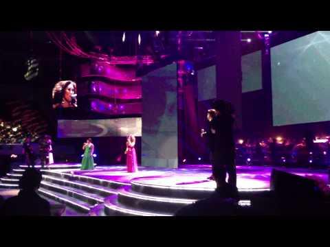 Anna Fegi, Bituin Escalante, & Martin Nievera at 2013 Himig Handog Finals