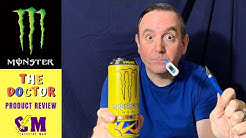 Monster The Doctor Energy Drink Product Review. Inspired by Valentino Rossi.