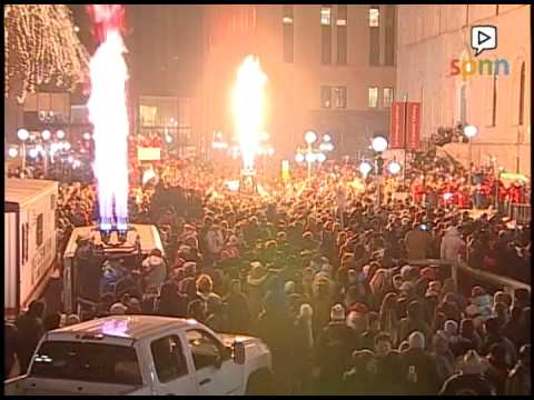 Overthrow Ceremony - Saint Paul Winter Carnival 2015