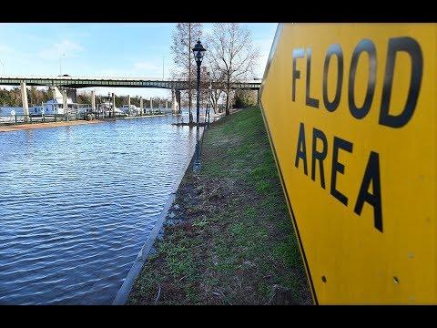 Rising Savannah River Waters in Augusta