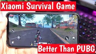 Xiaomi Survival Battle Royale Game   Better Than Pubg Mobile