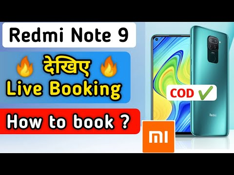 Live Booking Redmi Note 9 On Mi Store | how to book redmi note 9 | redmi note 9 book kaise karen |