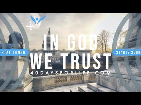 In God We Trust Webcast | We've Got Work To Do