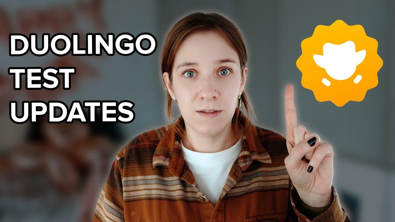 DUOLINGO ENGLISH TEST UPDATES | What's new in 2021?