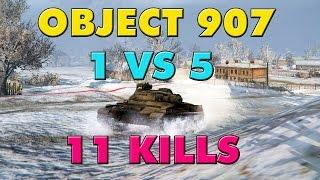 World of Tanks Object 907 - 11 Kills - 9.8K Damage