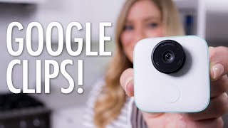 AI Camera - Google Clips Unboxing!