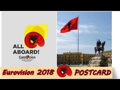 Eurovision 2018 || Eugent Bushpepa - Mall (Albania) || POSTCARD