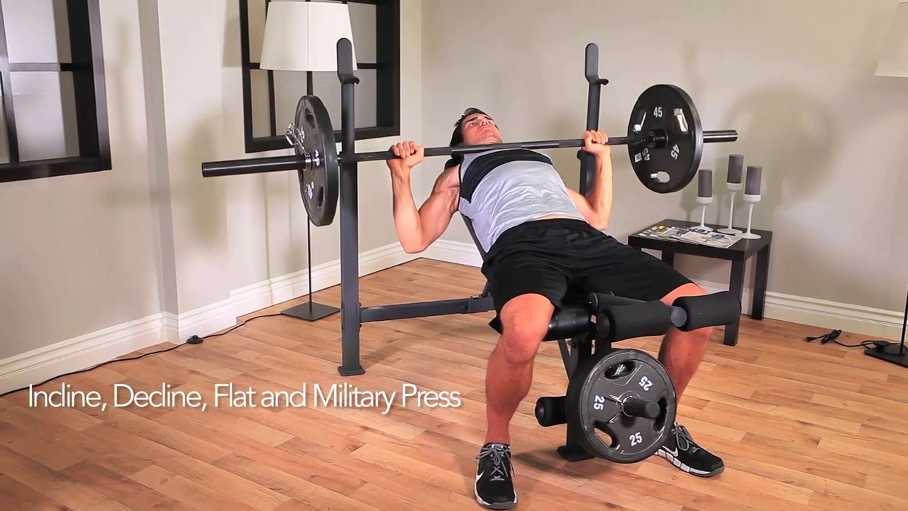 Competitor Olympic Weight Bench Cb 729 Youtube