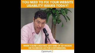 You Need To Fix Your Website Usability Issues! Request a Full Marketing, Technology, eCommerce Audit