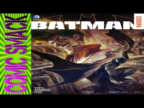 Batman Europa #4 Comic Smack (Final Issue)