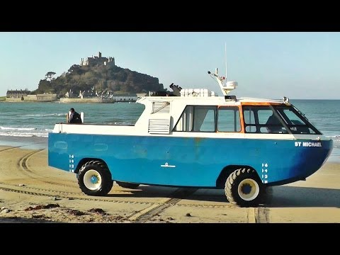 St Michael's Mount Cornwall Amphibious Vehicle - Car Craft Vehicles