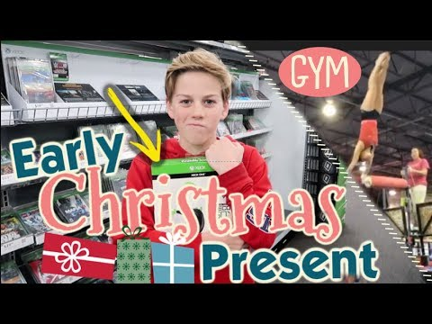 It's An Early Christmas Present + Sneak Peek in the Gym