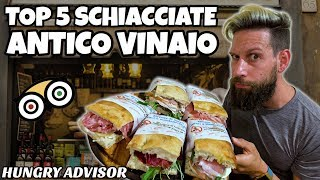 LE TOP 5 SCHIACCIATE ALL' ANTICO VINAIO! - Hungry Advisor - Episodio 2