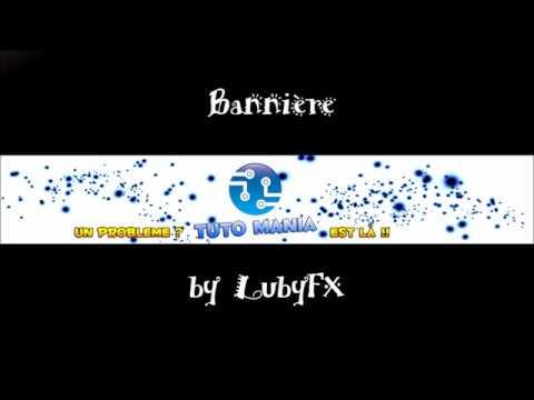 [SPEEDART #3] Bannière Pour Tuto Mania - LubyFX