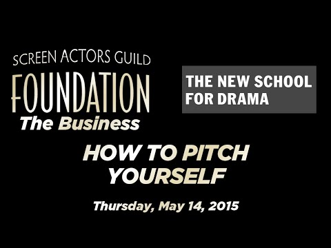 The Business: How to Pitch Yourself