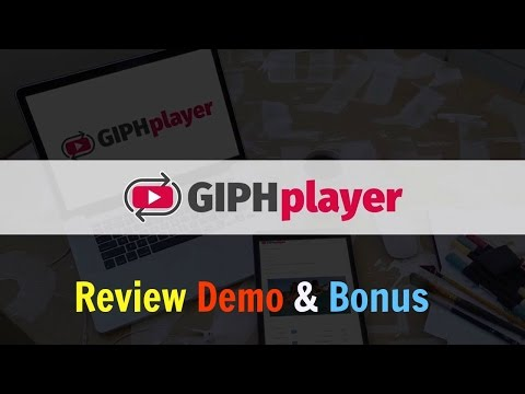 GIPHplayer Review Demo Bonus - Worlds FIRST Video Style GIF Player. http://bit.ly/2ZDG2Oq