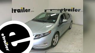 Rhino Rack Roof Rack Review - 2013 Chevrolet Volt