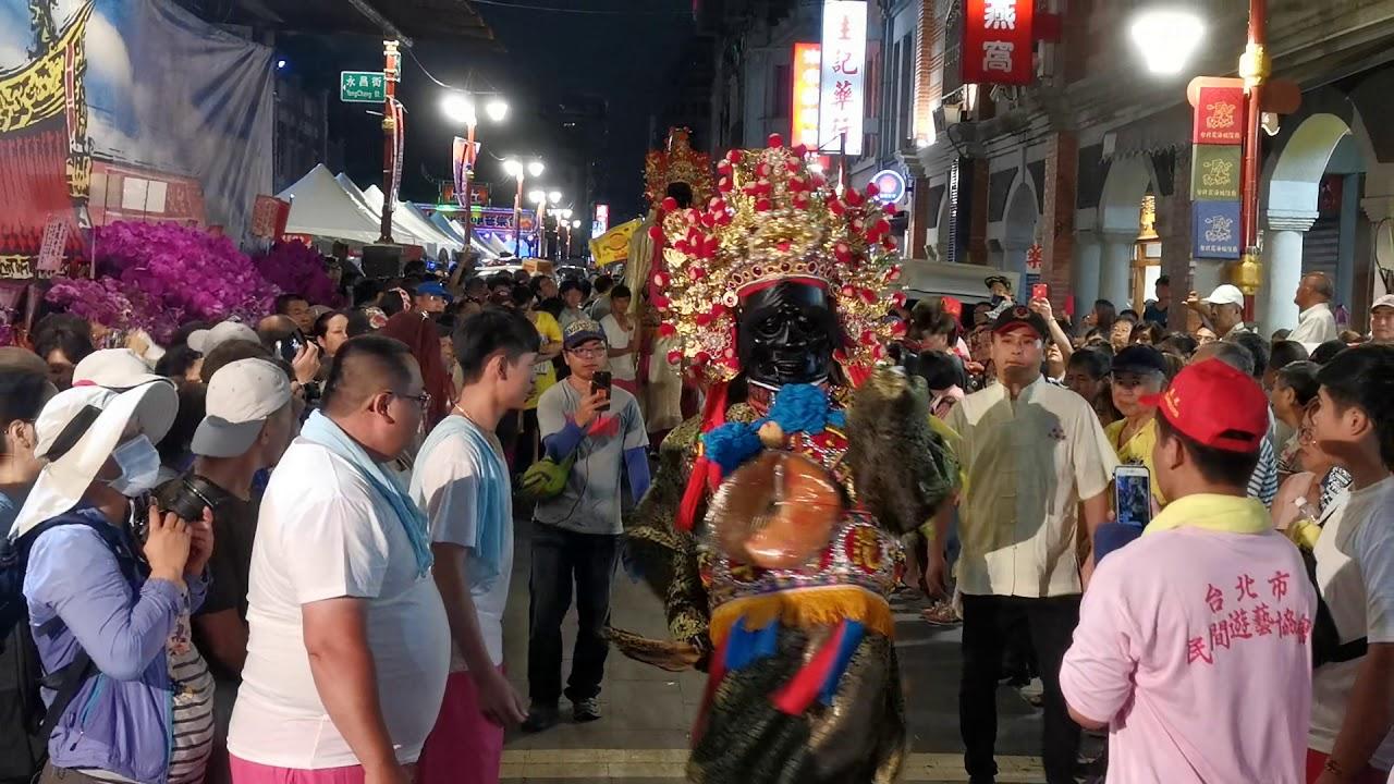 2019臺北迎城隍日巡 - 臺北共樂軒入廟 - YouTube