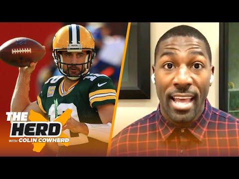 Rodgers' Packers blow lead, Brady's Bucs win, Baker may be done — Greg Jennings | NFL | THE HERD