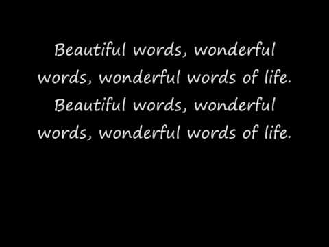 wonderful words of life hymn youtube