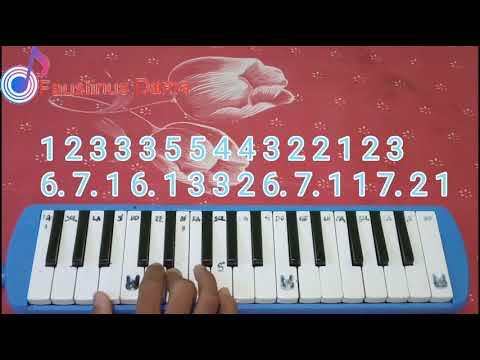Not Pianika Harta Berharga Ost Keluarga Cemara Cover Faustinus Dama
