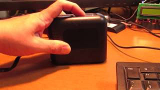 Erasing UV-EPROM in five seconds.