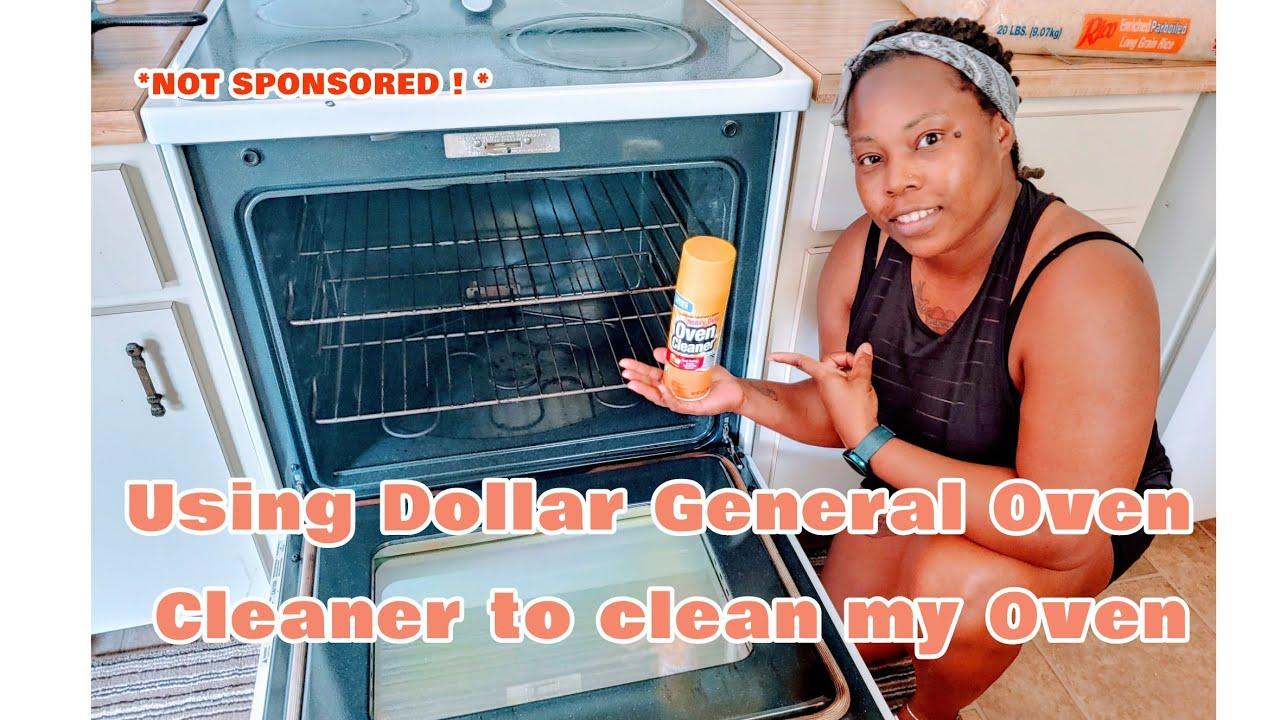 Using Dollar General Oven Cleaner To Clean My Oven Not Sponsored Youtube