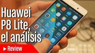 Análisis Huawei P8 Lite en español