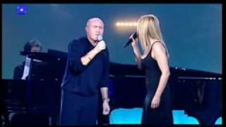 Phil Collins & Lara Fabian - True Colors (Live)