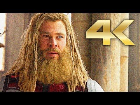 Avengers Endgame   Thor Scenes 'I'm Still Worthy' - 4K