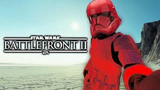 Star Wars The Rise of Skywalker Battlefront 2 Funny Moments #44