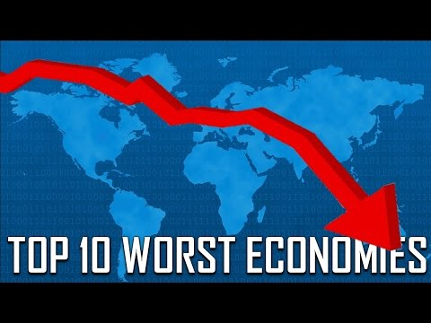 Top 10 Countries With the Worst Economy in the World