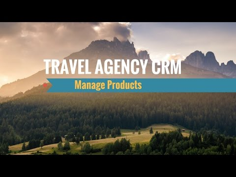 [HD] Travel Agency CRM: Manage Products