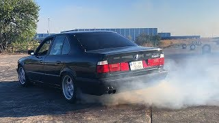 ЦВЕТ НАСТРОЕНИЯ БУМЕР ! СЕРИЯ 2 ! ДРИФТ ! BMW 540 E34 ! ВЛОГ !