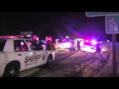 Several Men Taken Into Custody On Highway 99 in Modesto, California