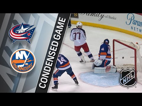 02/13/18 Condensed Game: Blue Jackets @ Islanders