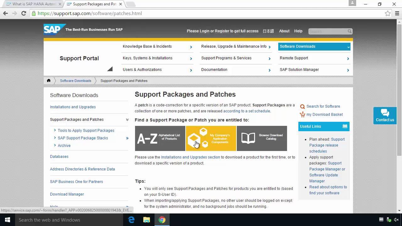SAP HANA and In-Memory Computing
