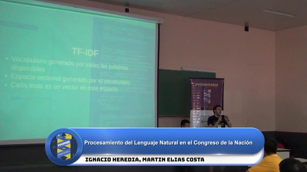 Image from Procesamiento del Lenguaje Natural en el Congreso de la Nación