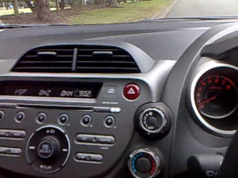 Honda GE Jazz/Fit Radio Digital Speedo - YouTube