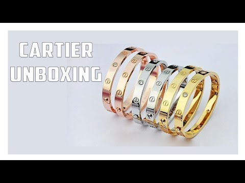 Cartier Love Bracelet Unboxing: Is It Worth It?