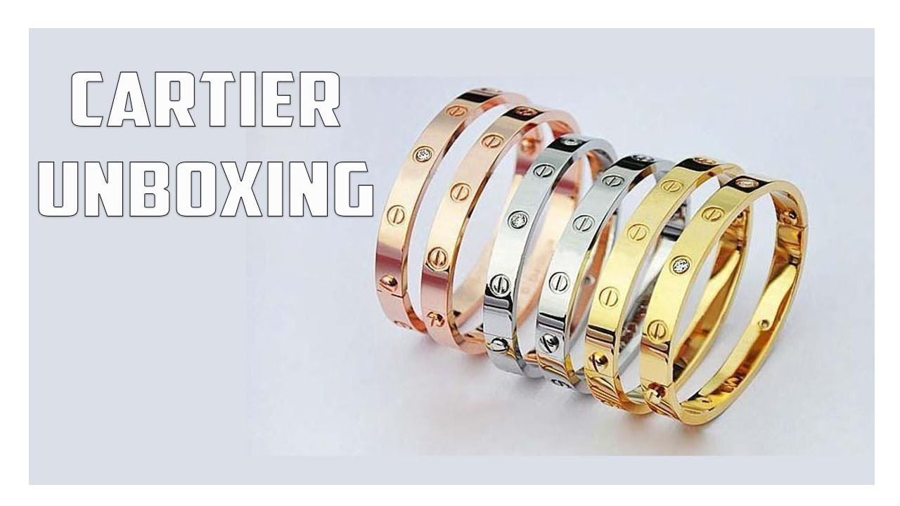 Cartier Love Bracelet Unboxing Is It Worth It Youtube