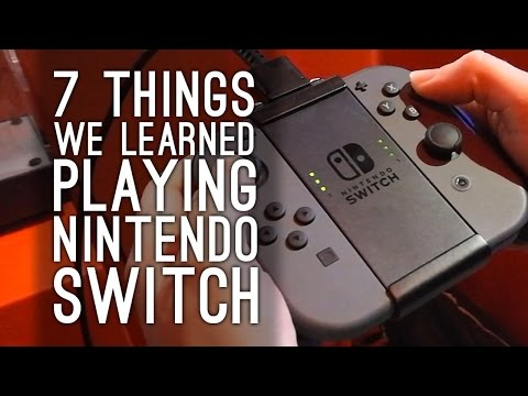 7 Things We Learned About Nintendo Switch (by...