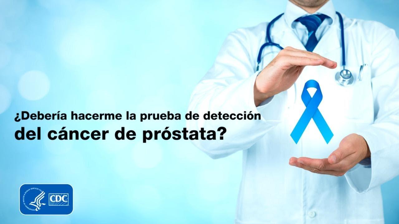 cómo hacen la detección del cáncer de próstata