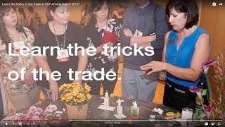 Learn the tricks of the trade at SAF Amelia Island 2019!