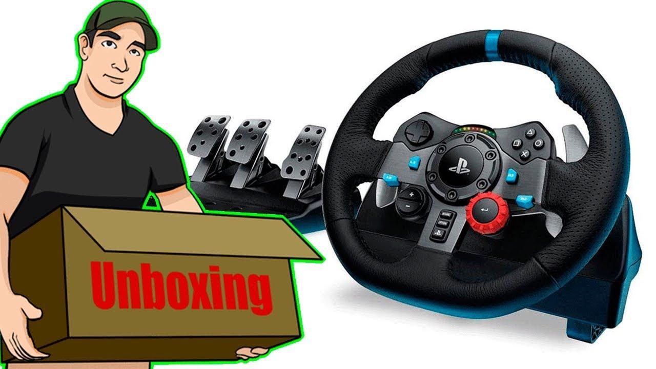 955d073336f Unboxing Logitech G29 GT para PS4/PS3/PC mas Shifter - YouTube