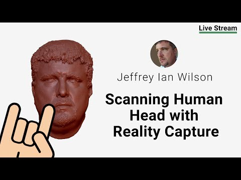 Scanning Human Head with Reality Capture - [Reality Capture, Toolbag 3, Photoshop, Maya]