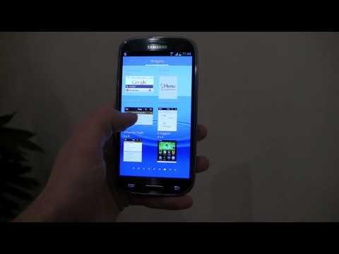 Samsung Galaxy S III Hands-On: TouchWiz