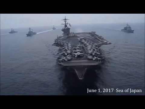 Malabar 2017: Navies Joint Naval Exercise. We will go to India.