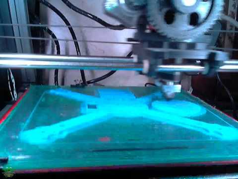 Printing Diametric's Mini Quadcopter for Midsouth Makers